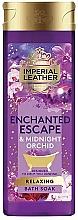 Parfums et Produits cosmétiques Gel douche Orchidée de minuit - PZ Cussons Imperial Leather Enchanted Escape & Midnight Orchid