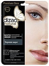 Parfums et Produits cosmétiques Masque tissu au caviar noir pour visage et cou - Dizao Natural