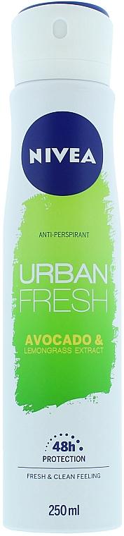 Déodorant spray anti-transpirant - Nivea Urban Fresh Avocado And Lemongrass Anti-Perspirant Spray