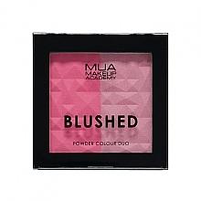 Parfums et Produits cosmétiques Duo blush - MUA Blushed Powder Colour Duo