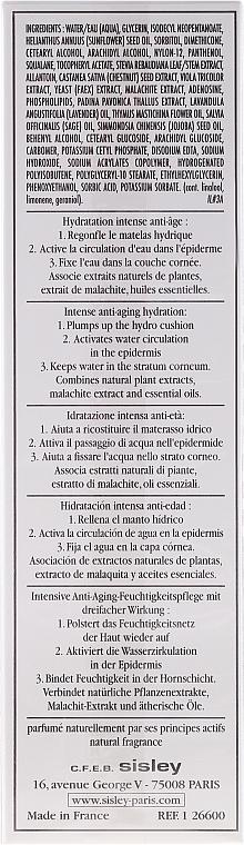 Crème à l'huile de lavande et sauge pour visage - Sisley Hydra Global Intense Anti-Aging Hydration — Photo N2
