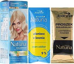 Parfums et Produits cosmétiques Kit de décoloration pour cheveux ( crème oxydante + poudre éclaircissante ) - Joanna Hair Naturia Blond