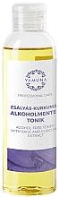Parfums et Produits cosmétiques Lotion tonique à l'extrait de sauge et curcuma - Yamuna Sage-Turmeric Non-Alcoholic Tonic