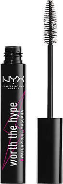 Mascara waterproof - NYX Professional Makeup Worth The Hype Waterproof Mascara