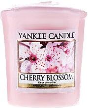 Parfums et Produits cosmétiques Bougie parfumée votive Fleur de cerisier - Yankee Candle Scented Votive Cherry Blossom