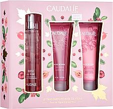 Parfums et Produits cosmétiques Caudalie Rose De Vigne - Set (eau fraîche/50ml + gel douche/50ml + lotion corporelle/50ml)