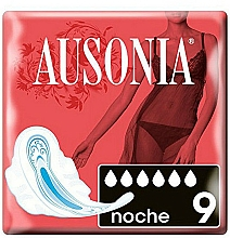 Parfums et Produits cosmétiques Protège-slips de nuit avec ailes, 9 pcs - Ausonia Night Ultra Towels