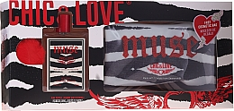 Parfums et Produits cosmétiques Chic&Love Muse - Set (eau de toilette/100ml + trousse)