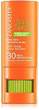 Parfums et Produits cosmétiques Stick solaire pour les zones sensibles du visage - Lancaster Sun Sport Face Stick SPF30