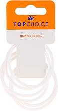 Parfums et Produits cosmétiques Élastiques à cheveux 22807, blanc - Top Choice