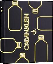 Parfums et Produits cosmétiques Calvin Klein CK One - Coffret (eau de toilette/50ml + gel purifiant pour le corps/100ml)