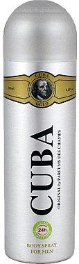 Cuba Gold - Déodorant spray parfumé