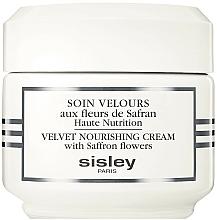 Parfums et Produits cosmétiques Crème aux fleurs de safran pour visage - Sisley Soin Velours Aux Fleurs De Safran