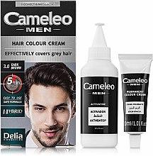 Parfums et Produits cosmétiques Crème colorante permanente - Delia Cameleo Men Hair Color Cream