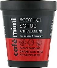 Parfums et Produits cosmétiques Gommage corporel chauffant anti-cellulite - Cafe Mimi Body Hot Scrub Anticellulite