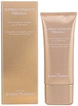 Parfums et Produits cosmétiques Crème à l'extrait de papaye pour cou et décolleté - Methode Jeanne Piaubert Suprem Advance Premium Complete