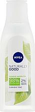 Parfums et Produits cosmétiques Tonique nettoyant pour visage - Nivea Naturally Good Cleansing Refreshing Toner
