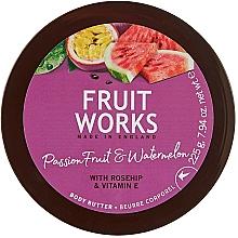 Parfums et Produits cosmétiques Beurre pour corps, Fruit de la passion et pastèque - Grace Cole Fruit Works Body Butter