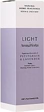 Parfums et Produits cosmétiques Spray d'ambiance, Petitgrain et Lavande - AromaWorks Light Range Room Mist