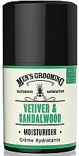 Parfums et Produits cosmétiques Crème hydratante pour visage - Scottish Fine Soaps Vetiver & Sandalwood Moisturiser