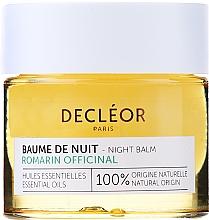 Parfums et Produits cosmétiques Buame de nuit à l'huile de romarin - Decleor Rosemary Officinalis Night Balm (mini)