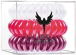 Parfums et Produits cosmétiques Élastiques à cheveux - HH Simonsen Hair Cuddles Red, Dark Red, Pearl