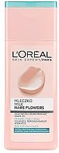 Parfums et Produits cosmétiques Lait démaquillant aux extraits de rose et nelumbo - L'Oreal Paris Rare Flowers Face Milk