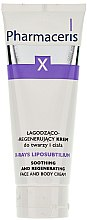 Parfums et Produits cosmétiques Crème pour visage et corps - Pharmaceris X XRay-Liposubtilium Sooting and Regenerating Cream For Face and Body