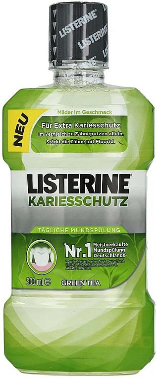 Bain de bouche, Thé vert - Listerine Caries Protection Mouthwash