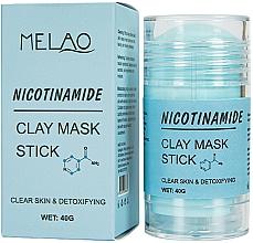 Parfums et Produits cosmétiques Masque en stick pour visage Nicotinamide - Melao Nicotinamide Clay Mask Stick