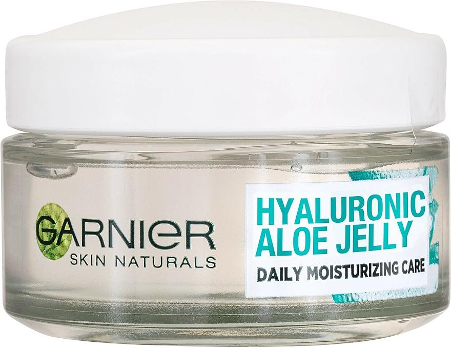 Crème-gel à l'acide hyaluronique et aloe vera pour visage - Garnier Skin Naturals Hyaluronic Aloe Jelly Cream