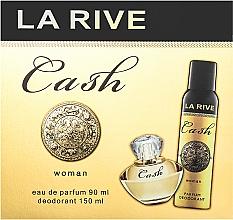 Parfums et Produits cosmétiques La Rive Cash Woman - Set (eau de parfum/90ml + déodorant/150ml)