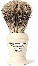 Parfums et Produits cosmétiques Blaireau de rasage, P375 - Taylor of Old Bond Street Shaving Brush Pure Badger size M