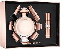 Parfums et Produits cosmétiques Paco Rabanne Olympea - Coffret (eau de parfum/80ml + eau de parfum/10ml)