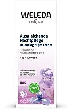 Crème de nuit à l'iris - Weleda Iris Nachtcreme — Photo N2