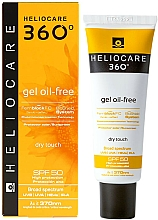 Parfums et Produits cosmétiques Gel solaire pour corps - Cantabria Labs Heliocare 360 Gel Oil-Free Dry Touch