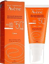 Parfums et Produits cosmétiques Crème solaire pour visage SPF 50 - Avene Eau Thermale Sun Cream SPF50