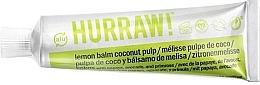 Parfums et Produits cosmétiques Baume multi-usages à la papaye, arôme Citron et Coco - Hurraw! Balmtoo Lemon Balm Coconut Pulp