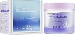 Parfums et Produits cosmétiques Patchs à l'extrait de camomille pour visage - Petitfee&Koelf Azulene Ultra Soothing Pads