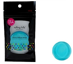 Parfums et Produits cosmétiques Éponge à maquillage en silicone, bleu - Rolling Hills Silicone Makeup Sponge Blue