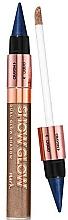 Parfums et Produits cosmétiques Fard à paupières liquide et fard à paupières en crayon - Avon Show Glow Dual Eye Shadow