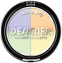 Parfums et Produits cosmétiques Palette de correcteurs colorés - Miss Sporty Designer Corrective Palette
