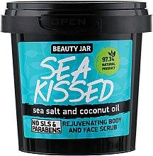 Parfums et Produits cosmétiques Gommage régénérant au sel marin et huile de coco pour visage et corps - Beauty Jar Rejuvenating Body And Face Scrub