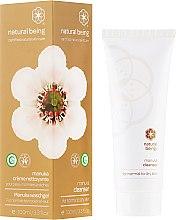 Parfums et Produits cosmétiques Grème nettoyante visage pour peaux normales et sèches - Natural Being Manuka Cleanser