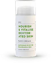Parfums et Produits cosmétiques Crème à l'eau florale de camomille pour visage - You & Oil Nourish & Vitalise Dehydrated Skin Face Cream