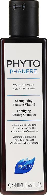 Shampooing aux vitamines B5 et B6 - Phyto Phytophanere Fortifying Vitality Shampoo — Photo N1