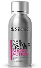 Parfums et Produits cosmétiques Liquide pour poudre acrylique - Silcare Nail Acrylic Liquid Comfort Shot Action