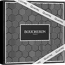 Parfums et Produits cosmétiques Boucheron Quatre Boucheron Pour Homme - Coffret (eau de toilette/100ml + baume après-rasage/100ml + gel douche/100ml)