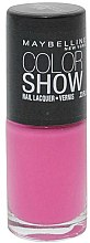 Parfums et Produits cosmétiques Vernis à ongles - Maybelline Color Show Nail Lacquer