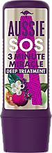 Parfums et Produits cosmétiques Traitement à l'extrait de poivre de Tasmanie pour cheveux - Aussie SOS 3 Minute Miracle Deep Treatment